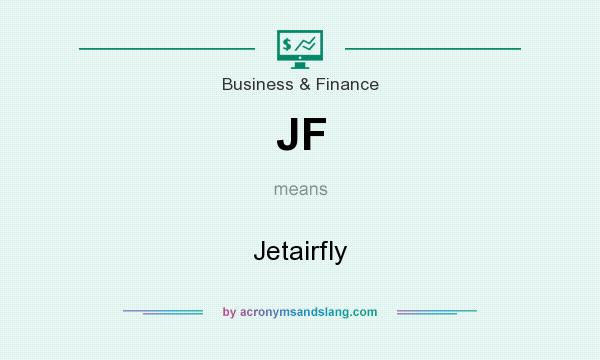 What does JF mean? It stands for Jetairfly