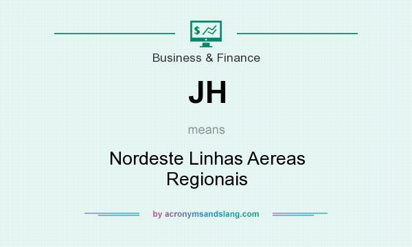 What does JH mean? It stands for Nordeste Linhas Aereas Regionais