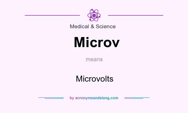 What Does Microv Mean