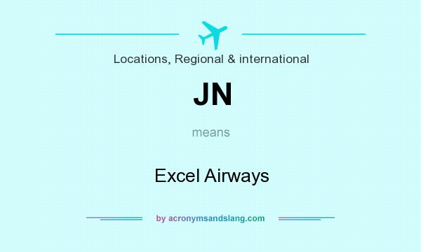 What does JN mean? It stands for Excel Airways