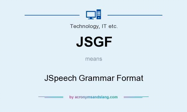 jsgf grammar