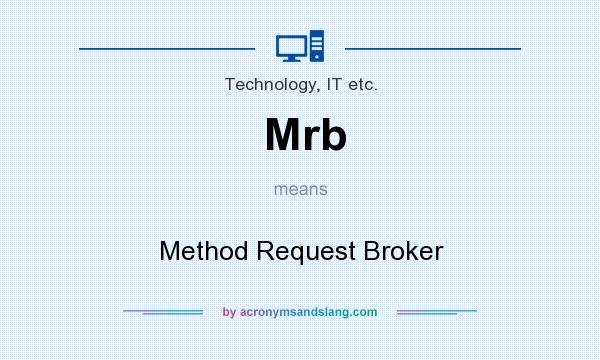 What does Mrb mean? It stands for Method Request Broker