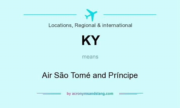 What does KY mean? It stands for Air São Tomé and Príncipe