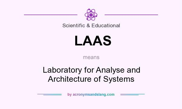 What does LAAS mean? It stands for Laboratory for Analyse and Architecture of Systems