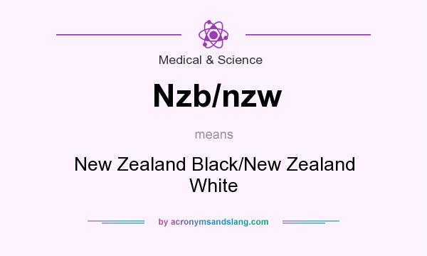 What does Nzb/nzw mean? It stands for New Zealand Black/New Zealand White