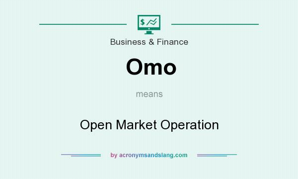 What does Omo mean? It stands for Open Market Operation