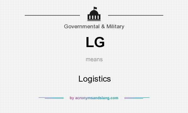 What does LG mean? It stands for Logistics