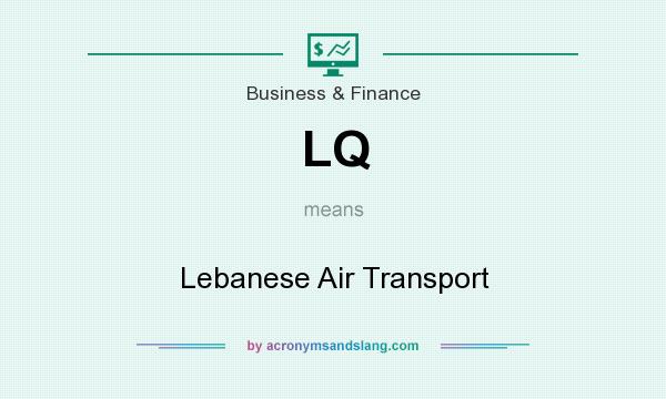 What does LQ mean? It stands for Lebanese Air Transport