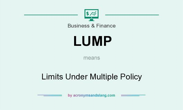 What does LUMP mean? It stands for Limits Under Multiple Policy