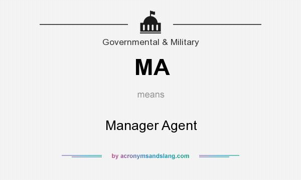 What does MA mean? It stands for Manager Agent