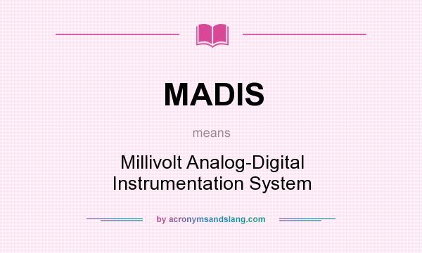 MV abbreviation stands for Millivolts
