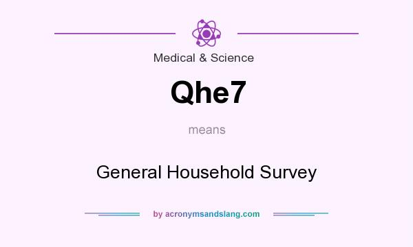 What does Qhe7 mean? It stands for General Household Survey