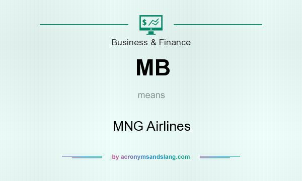 What does MB mean? It stands for MNG Airlines
