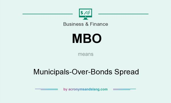 What does MBO mean? It stands for Municipals-Over-Bonds Spread
