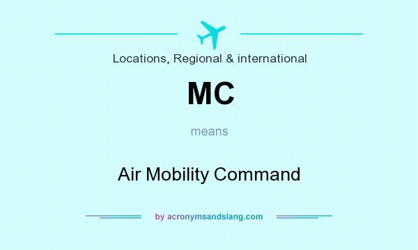 What does MC mean? It stands for Air Mobility Command