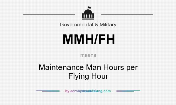 What does MMH/FH mean? It stands for Maintenance Man Hours per Flying Hour