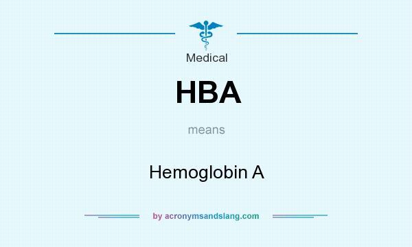 Hba acronym