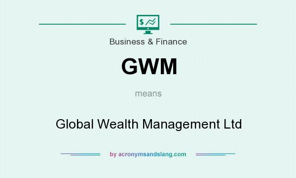 What does GWM mean? It stands for Global Wealth Management Ltd