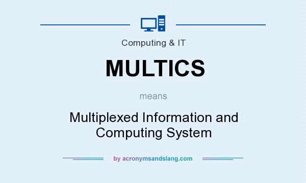 What does MULTICS mean? It stands for Multiplexed Information and Computing System