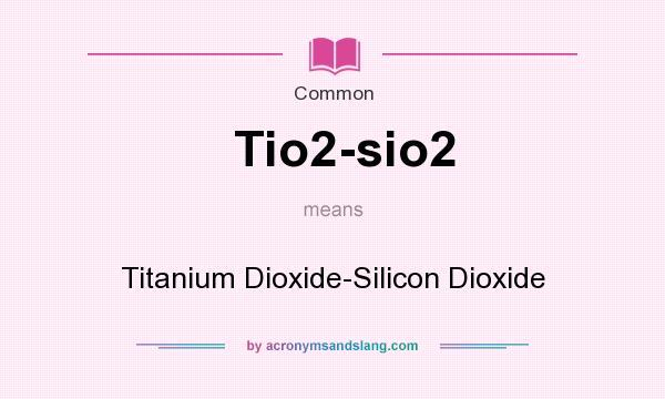 Use and description of titanium dioxide essay