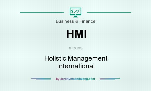 What does HMI mean? It stands for Holistic Management International