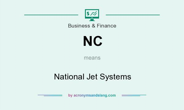 What does NC mean? It stands for National Jet Systems