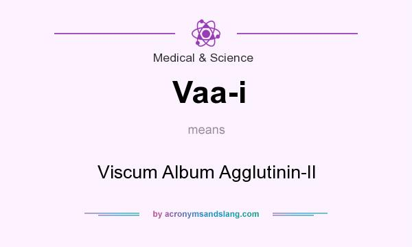 What does Vaa-i mean? It stands for Viscum Album Agglutinin-II