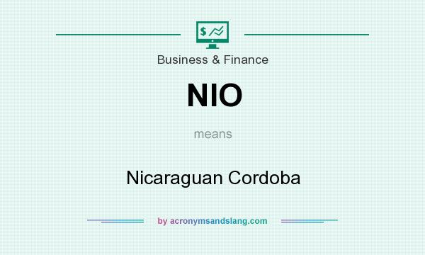 What does NIO mean? It stands for Nicaraguan Cordoba
