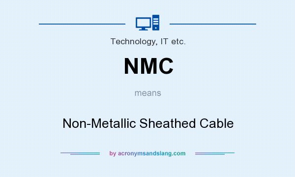 NMC - Non-Metallic Sheathed Cable in Technology, IT etc. by ...