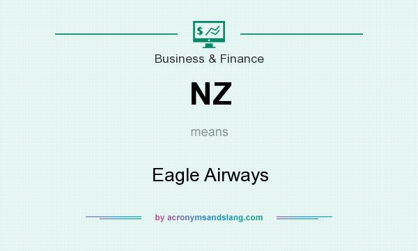 What does NZ mean? It stands for Eagle Airways