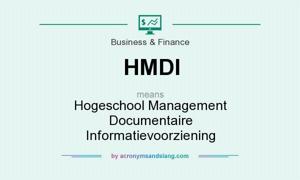 What does HMDI mean? It stands for Hogeschool Management Documentaire Informatievoorziening