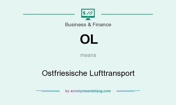 What does OL mean? It stands for Ostfriesische Lufttransport