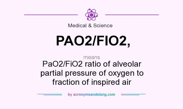 fio2 and pao2 relationship questions