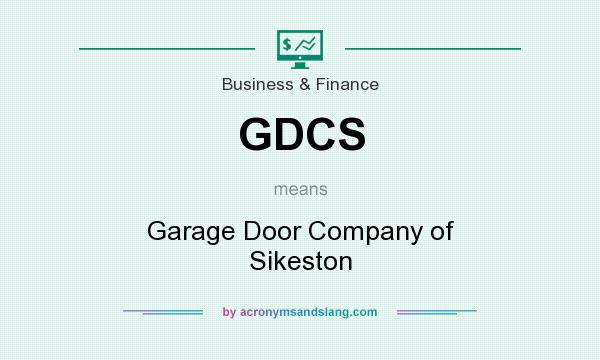 Gdcs Garage Door Company Of Sikeston In Business Finance By