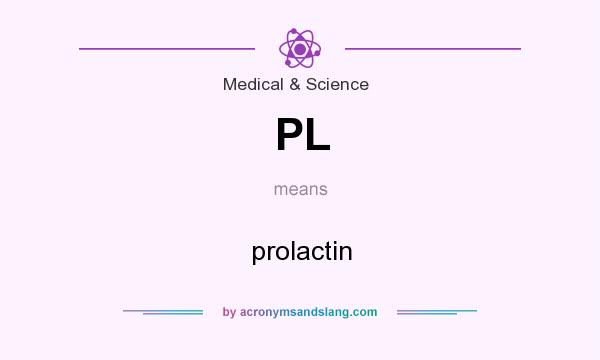 What does PL mean? It stands for prolactin