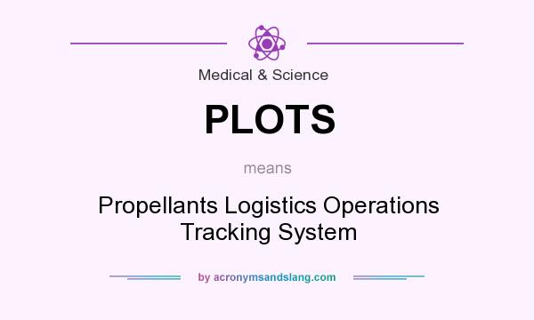 What does PLOTS mean? It stands for Propellants Logistics Operations Tracking System