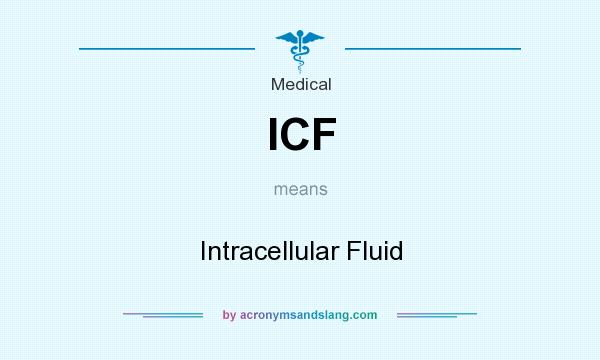 What does ICF mean? It stands for Intracellular Fluid