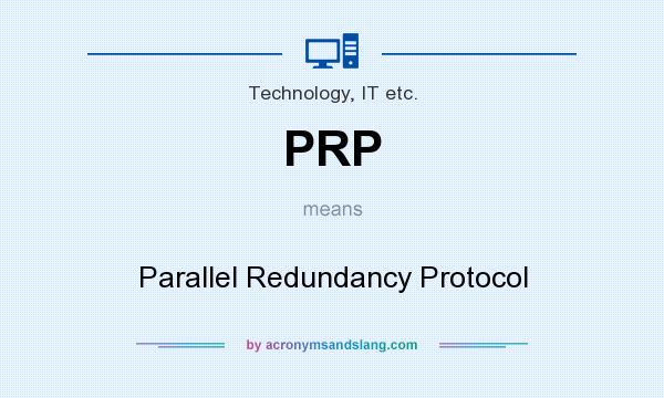 PRP - Parallel Redundancy Prot...