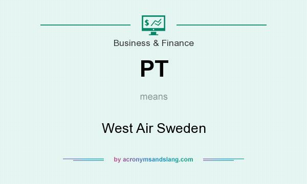What does PT mean? It stands for West Air Sweden