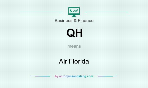 What does QH mean? It stands for Air Florida