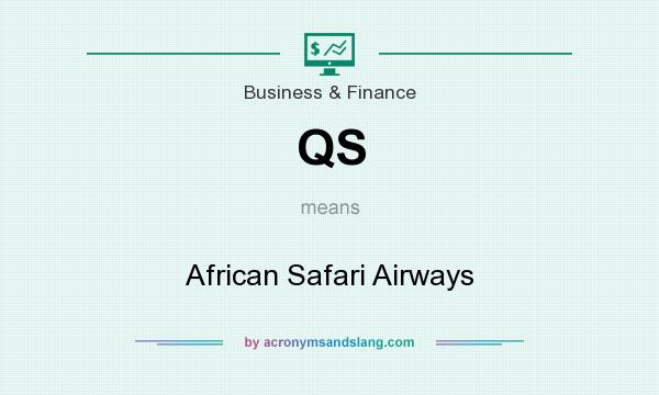 What does QS mean? It stands for African Safari Airways