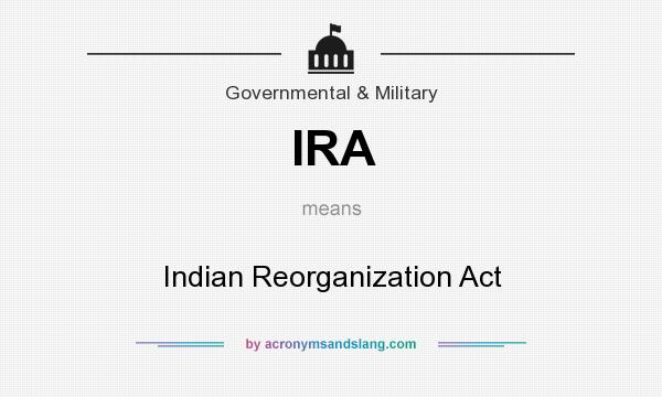 indian reorganization act purpose