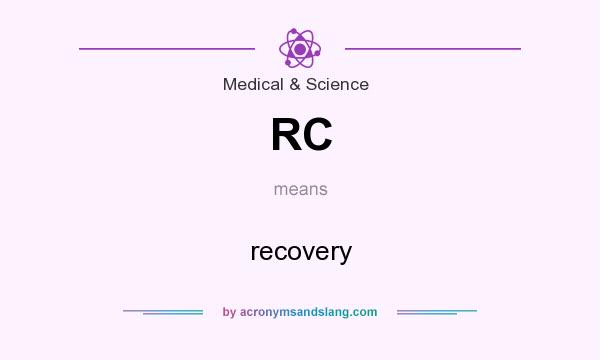 What does RC mean? It stands for recovery