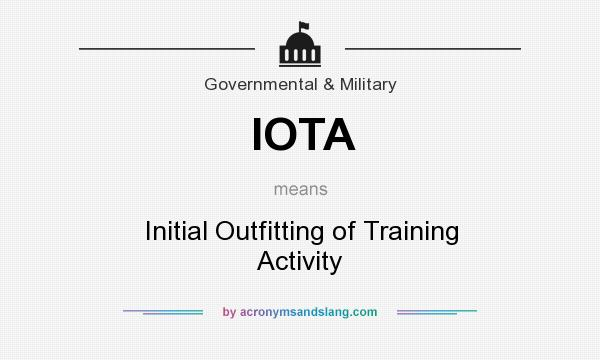 what does iota stand for