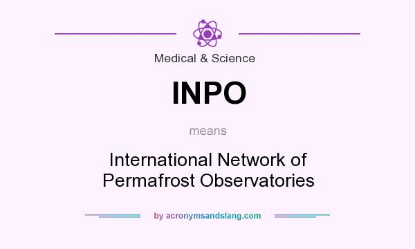 What does INPO mean? It stands for International Network of Permafrost Observatories