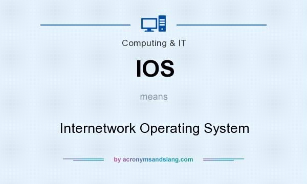 What does IOS mean? It stands for Internetwork Operating System