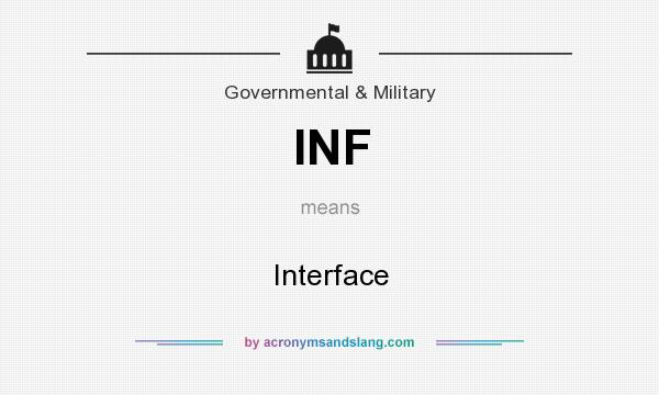 What does INF mean? It stands for Interface