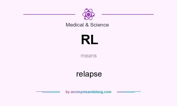 What does RL mean? It stands for relapse