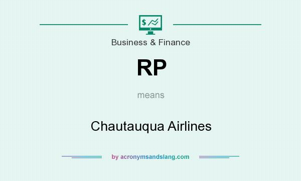 What does RP mean? It stands for Chautauqua Airlines