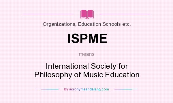 philosophy of music education Is a philosophy of education and a concept of teaching is a comprehensive program to train basic musical skills and teach the reading and writing of music.